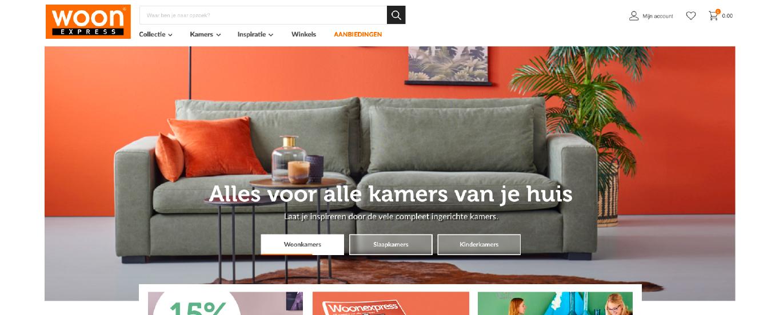 Website Woonexpress