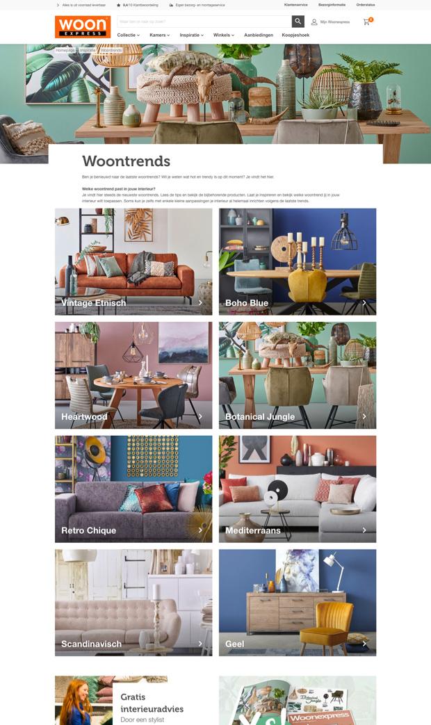 Sfeerafbeelding website Woonexpress