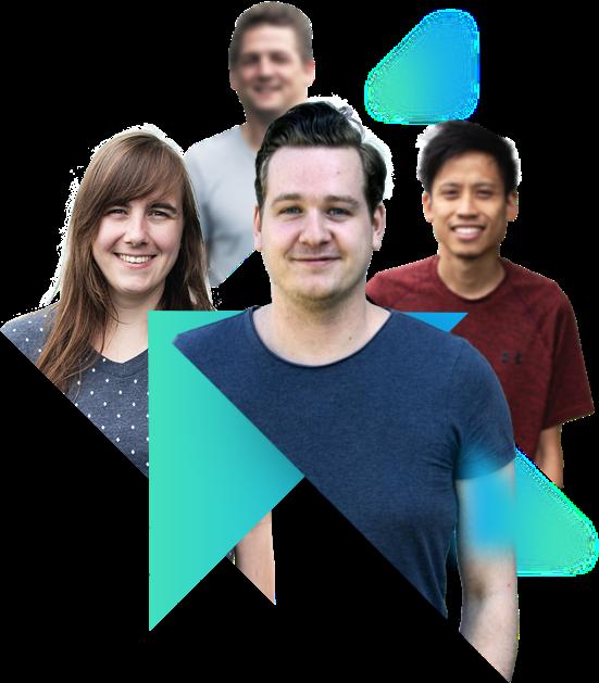 Sfeerafbeelding developers team